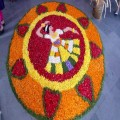 Onam celebration in college by staff members 10/09/19